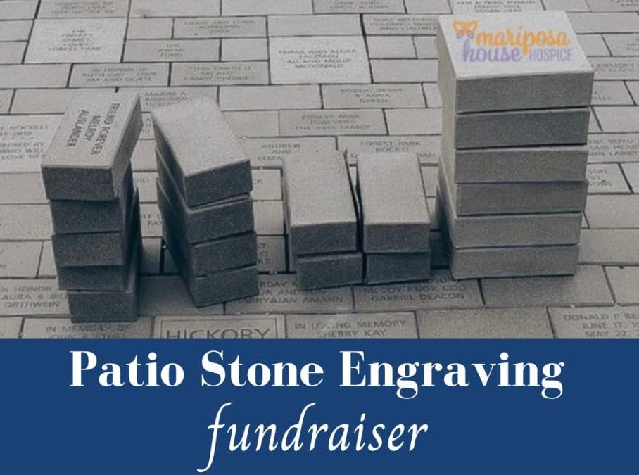 Patio Stone Engraving – deadline extended to Aug 31